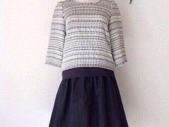ベーシックギャザースカート【ブラック】(大人フリーサイズ)の画像