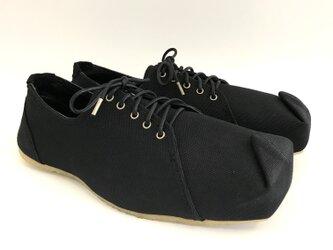 SQUARE sneakers #倉敷帆布 #受注製作の画像