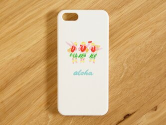 SALE!!!【iPhone/Android対応】aloha hula girls colorスマートフォンケースの画像