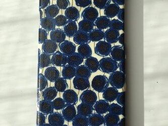 大人可愛いリバティiPhone6,6sケース艶めき加工の画像