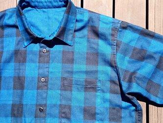 サイズオーダー品 ダブルガーゼメンズシャツの画像
