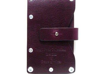 Card case-002-名刺入れ パープルの画像
