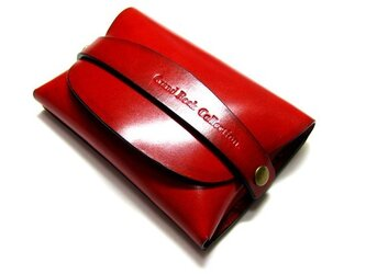 Card case-003-名刺入れ レッドの画像