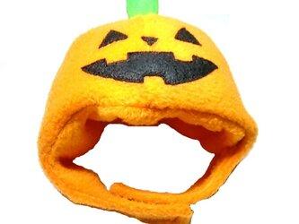 ハロウィンかぼちゃのかぶりもの(帽子)【S/M/L】の画像
