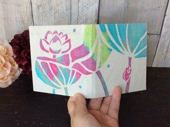 「蓮の花と蛙」スケジュール手帳の画像