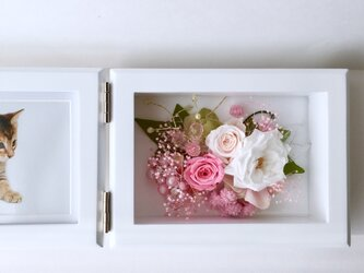 ご結婚お祝い・母の日プレゼント♡Photo frame『受注制作』の画像