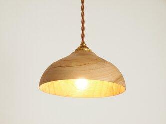 木製 ペンダントランプ 楠(クス)材11の画像