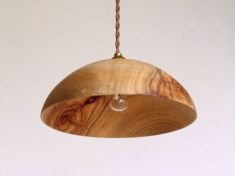 木製 ペンダントランプ 楠(クス)材5の画像