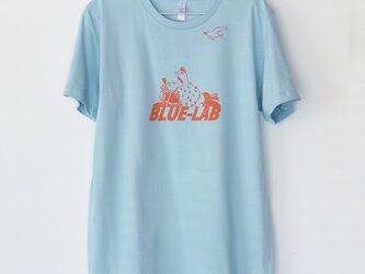 トリくんのTシャツ Blue x orangeの画像