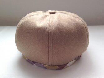 パンプキン ベレー帽風の画像