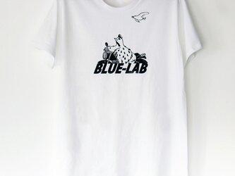 トリくんのTシャツ white×blackの画像