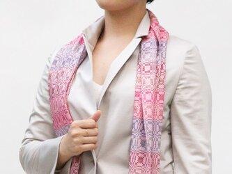 =Sold= シルク柄織(ピンク)の画像