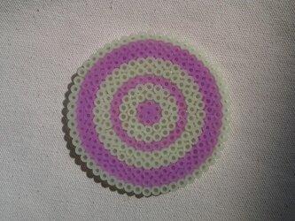 コースター(グルグル-紫)の画像
