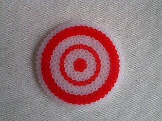 コースター(グルグル-赤)の画像