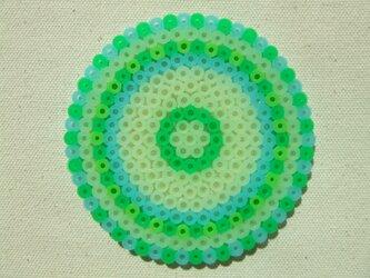 コースター(hanabiグリーン)の画像