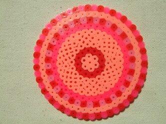 コースター(hanabi赤)の画像
