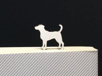 Dog-BookMark-17 ラブラドールレトリバー シルバー ブックマーク しおりの画像