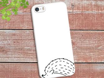 【送料無料】iPhone スマホケース ハリネズミの画像