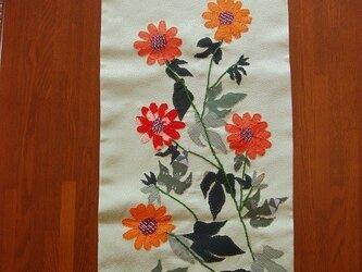 和布絵の壁掛け ~メキシコひまわり~の画像