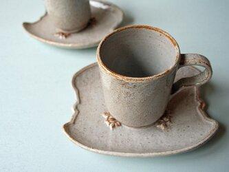 野イチゴのコーヒーカップ&ソーサーの画像