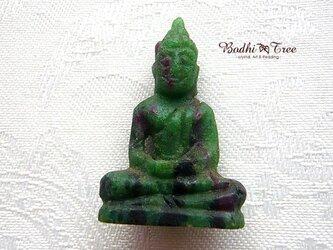 仏陀カービング(彫像)ルビーinゾイサイト-aの画像