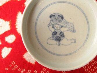 獅子舞稚児のどら鉢の画像