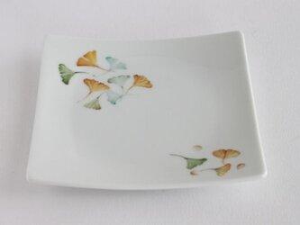 いちょうの皿の画像