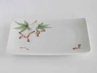 もみじの長皿の画像