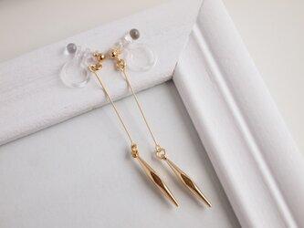 Earrings sharp diamondの画像