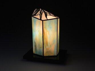 氷壁のランプの画像