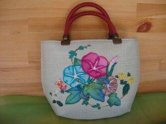 ASAGAO BAG*朝顔のバッグの画像