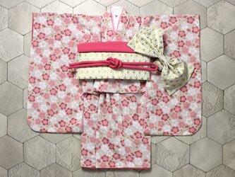 ◆七五三着物/小梅/90-110【受注生産】の画像