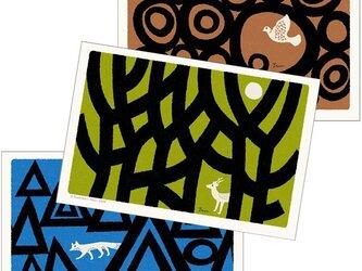 ポストカード こころ森-Dセット(3枚入)の画像