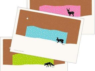 ポストカード こころ森-Cセット(3枚入)の画像