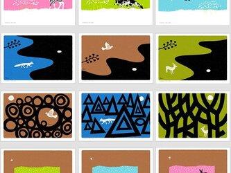ポストカード こころ森-12枚セットの画像