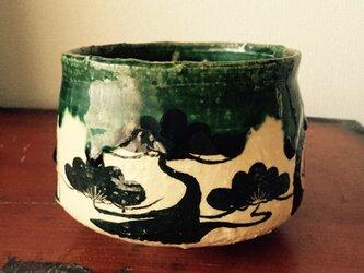 織部 茶碗の画像