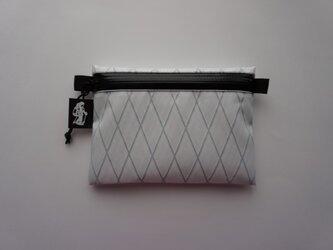 flat pouch M  x-pac Whiteの画像