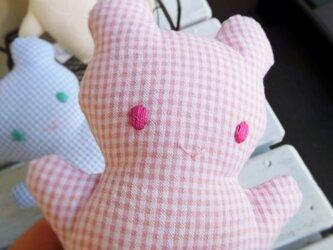 赤ちゃん用 くまのにぎにぎ(ピンク)の画像