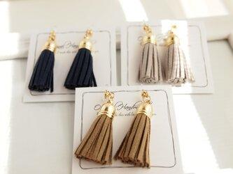 Earrings / pierce tasselの画像