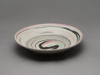 SOLDOUT!Marble皿(ピンク黒緑白)の画像