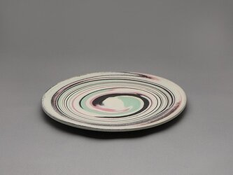 SOLDOUT! Marble皿(ピンク黒緑白)の画像