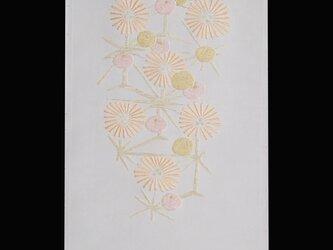 麻の葉に菊の画像
