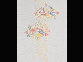 花流し(秋草・青海波)の画像