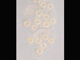 糸巻に菊の画像