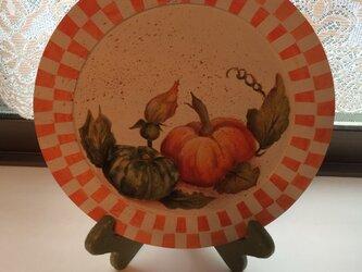 ハロウィン飾り皿の画像