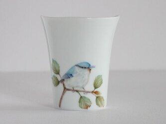 鳥のカップ~ゴジュウカラの画像