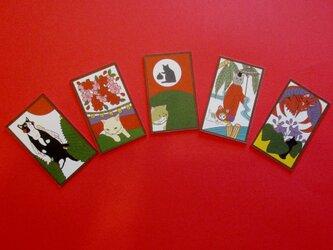 猫花札の画像