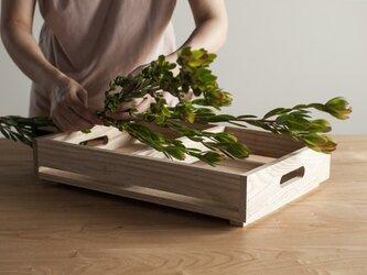 栗の木ボックス(浅)の画像