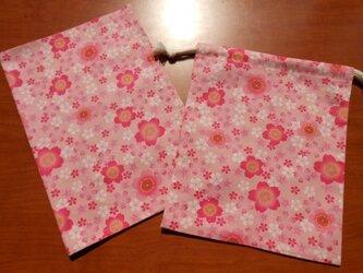 ランチマットセット〔桜〕の画像