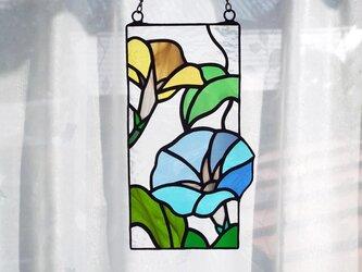 ステンドグラス「あさがお」の画像